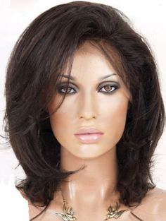 Layered Straight// Indian Remy Hair Full Lace Wig // Part anywhere 12-14 inches!!
