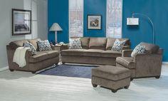 Living space by Flexsteel. Flexsteel is available in Washington @ the Fitterer's Furniture showroom in Ellenbsurg!