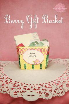 #Berry #Gift #Basket from Sweet Rose Studio #LifestyleCrafts