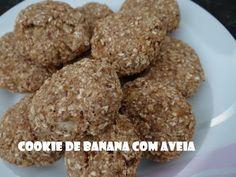 Cookie de Banana com Aveia!!! Sem açúcar! Muito bom!! - YouTube