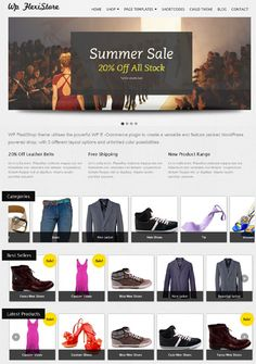 Considering the availability and ease of use, Wordpress has become the number one choice as an eCommerce CMS. Nowadays, more and more eCommerce shops are powered by WordPress eCommerce themes and eCommerce plugins.