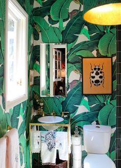 urban jungle restroom