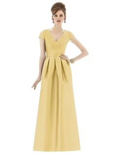 Alfred Sung Style D657 http://www.dessy.com/dresses/bridesmaid/d657/#.VWGLiGpvwR8
