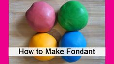 Make your own fondan