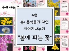 봄 활동자료 봄에 피는 꽃 PPT : 네이버 블로그 Letter Board, Diy And Crafts, Kindergarten, Environment, Lettering, Kindergartens, Drawing Letters, Preschool, Preschools