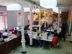 Utopic_us es uno de los centros de #coworking emblemáticos de #España. Cuenta con dos espacios en la zona centro de Madrid, con unos 800 metros cuadrados cada uno.