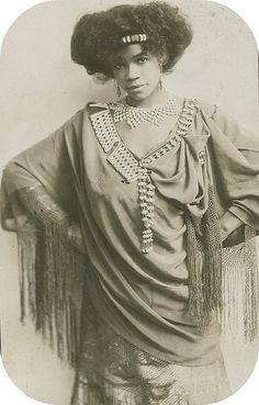 "Aida Overton Walker (14 February 1880 – 11 October 1914), also billed as ""The Queen of the Cakewalk"", was an African-American vaudeville performer. She appeared with her husband and his performing partner Bert Williams, and in groups such as Black Patti's Troubadours. She was also a solo dancer and choreographer for vaudeville shows."