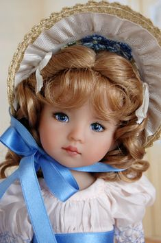 Dianna Effner 10 in all vinyl Doll. Painted by by Kuwahidolls