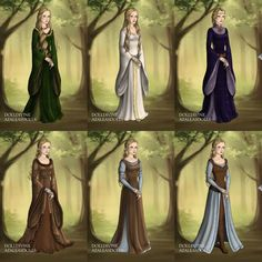 Eowyn's Wardrobe in The Two Towers by LadyAquanine73551 on DeviantArt