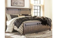 54 Simply Farmhouse Master Bedroom Design Ideas Match For Any Room - Trendehouse Furniture, Bedroom Sets, Master Bedroom Design, Home, Ashley Furniture, 5 Piece Bedroom Set, Industrial Bedroom Furniture, Interior Design, Rustic Bedroom
