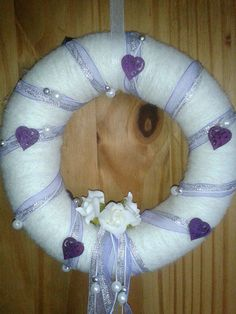 small bridesmaid wreath by GleefulGoat on Etsy, £8.50