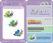 Need some help getting started with Scratch online? Here are some step by step cards to help you get started with code.