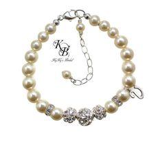Personalized Flower Girl Gift, Kids Jewelry, Flower Girl Bracelet, Flower Girl Jewelry, Little Girl Bracelet, Baby Bracelets, Little Girl