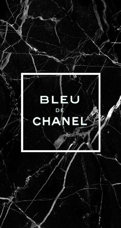 Bleu de chanel black marble wallpaper iphone6s