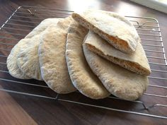 Pita Pocket Bread (Bread Machine)