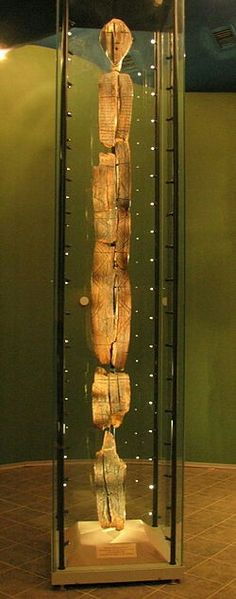 The Shigir Idol is the most ancient wooden sculpture in the world, made during theMesolithicperiod, around 11,000 years ago.
