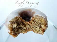 Zucchini Donuts with babycakes Donut Maker