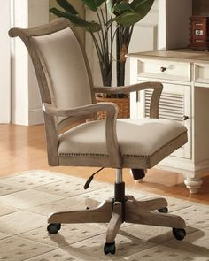 """""""Clarendon"""" Office Chair at Neiman Marcus."""