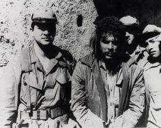 Cuban exile Felix Rodriguez, son of a former minister of Batista, was a key leader in the Bay of Pigs invasion. He later worked under the CIA in Nicaragua then in Bolivia, where he hunted down Che Guevara. He is here posing with Che on October 9, 1967, before having him shot (and keeping his Rolex watch as a trophy). In the 80s, Rodriguez was involved in the illegal support of the Contras of Nicaragua, for which he had frequent contacts with Vice-President George H. W. Bush.