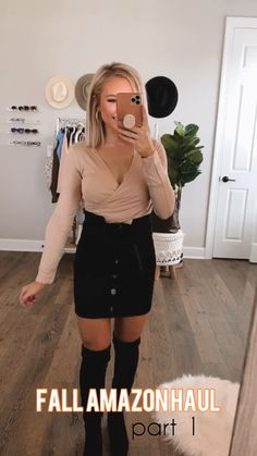 Casual Dress Outfits, Preppy Outfits, Teen Fashion Outfits, Outfits For Teens, Look Fashion, Spring Outfits, Autumn Fashion, Fashion Women, Work Outfits