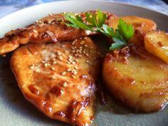 Pollo en Salsa de Jarabe de Arce y Soja