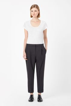COS | Pleated wool trousers