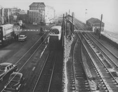 Mumbles Railway, Swansea | Peoples Collection Wales,bay view hotel in background.