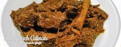 Bumbu Bali Daging Dua - Gestoofd rundvlees in een kruidige saus - Braised beef in a spicy sauce