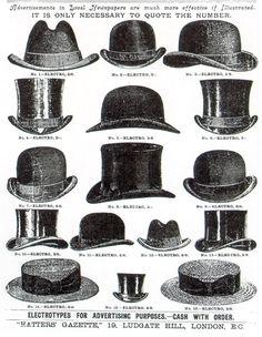 Chapeau Homme - 1920                                                                                                                                                      Plus