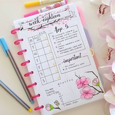 Bullet Journal ideas that will blow your mind. How to start a bullet journal for a complete beginner. How To Start A Bullet Journal today! Bullet Journal Inspo, Planner Bullet Journal, Bullet Journal Layout, My Journal, Journal Pages, Bullet Journals, Journal Themes, Bullet Journal Period Tracker, Happy Journal