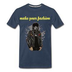 Men's Pilot Premium Organic T-Shirt Men Fashion, Organic Cotton, How To Make, Mens Tops, T Shirt, Shoes, Design, Moda Masculina, Supreme T Shirt