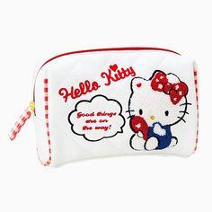 Hello Kitty Sagara embroidery pouch