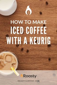 If you're trying to avoid paying money for an iced coffee when you already have a Keurig at home, you've come to the right place! It's 100% possible and surprisingly easy to do! Use our how-to guide to find out tips and tricks we've put together so you can get the most out of your home-brewed iced coffee. #coffeelovers #icedcoffee #roastycoffee #keurigcoffee Thai Iced Coffee, Vietnamese Iced Coffee, Making Cold Brew Coffee, How To Make Ice Coffee, What Is A Frappe, Coffee Course, Nitro Coffee, Coffee Accessories, Coffee Benefits