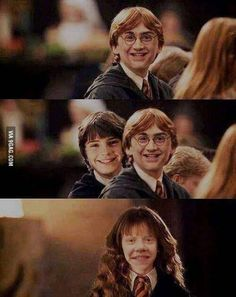 Here Is Why You Should Never Faceswap Harry, Ron And Hermione At The Same Time @Meghan Bruckner