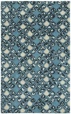 Chantel Blue/Ivory Area Rug
