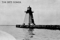 Cleveland East Pier Light, Ohio, USA