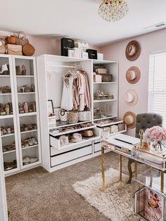 Pax Closet, Home Office Closet, Room Closet, Pax Wardrobe, Ikea Office, White Wardrobe, Office Spaces, Work Spaces, Wardrobe Ideas