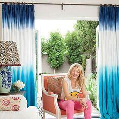 Bohemian Beach Cottage: Living Room