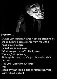 creepy things to say to a stranger