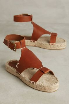 Soludos Ankle-Cinched Espadrilles