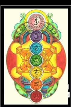 One of the many designs I have in mind for my chakra tattoo