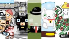 My Drawings with the App DrawQuest for Ipad by Garbi KW