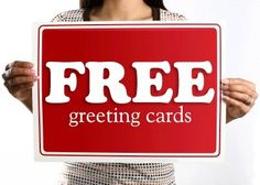 Limited time ONLY! Get an ABSOLUTELY FREE greeting card.