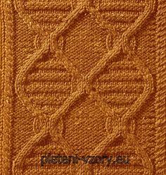 Vzor č. 74 – Kaleidoskop vzorů pro ruční pletení fd585fec7b