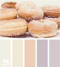 Sugar themed color design wedding inspiration palette in shades of pastel colors