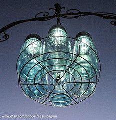 Use solar yard lights