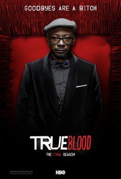 True Blood - The Final Season Poster (Lafayette) by emreunayli on deviantART