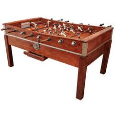 Italian S Foosball Table From A Unique Collection Of Antique - Italian foosball table