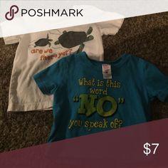 2 shirts 1 Gymboree shirt, 1 little teez brand. Good condition Gymboree Shirts & Tops Tees - Short Sleeve