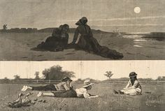 winslow-homer-flirting-beach-meadow.jpg 940×634 pixels